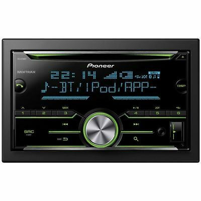 Pioneer FH-X730BT Double 2 DIN USB Aux Bluetooth Spotify MP3 CD Car Stereo