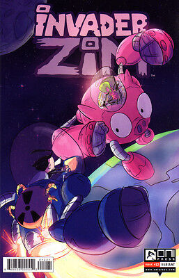 INVADER ZIM (2015) #12 Rashad Doucet VARIANT Cover