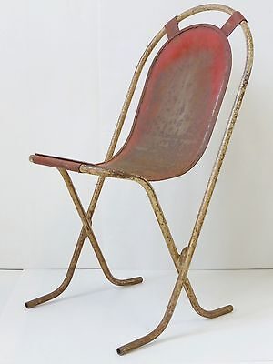 Beautiful Chair Modernist Entirely Metal Vintage 1920 1930 1940 1950 • £501.08