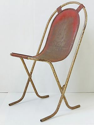 Beautiful Chair Modernist Fully Metal Vintage 1920 1930 1940 1950