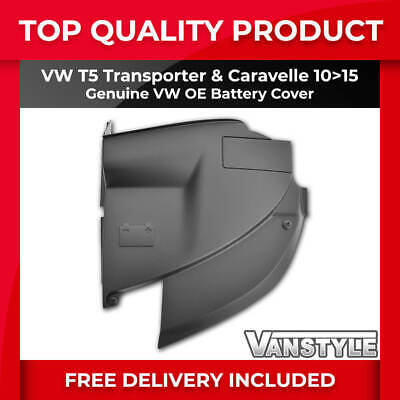 Vw T5 Transporter & Caravelle 2010-15 Genuine Vw Oe Engine Battery Cover T5.1 Gp