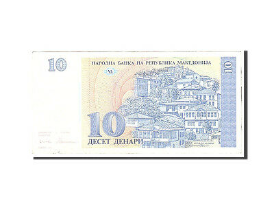 [#116772] Macedonia, 10 Denari, 1993, KM:9a, Undated