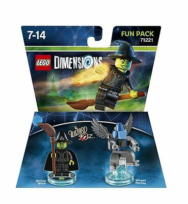 LEGO Dimensions: Fun Pack Wizard Of Oz Wicked Witch Of The West Brand New