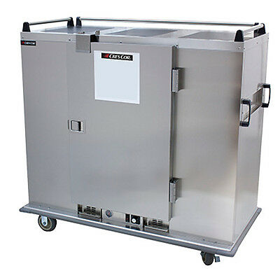 Cres Cor EB-150A 150 Capacity Heated Mobile Banquet Cabinet