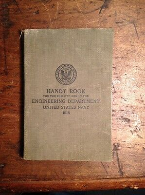 Handy Book for Engineering 1918 US Navy
