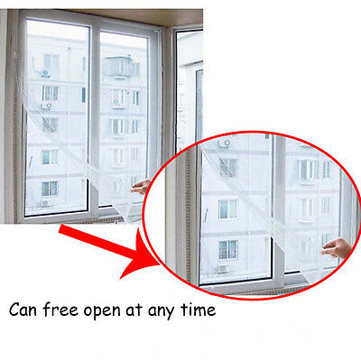 Self Adhesive Mosquito Window Screen Keep Out Mosquitoes Windows Netting Mesh