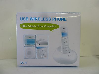 VOIP USB wireless Cordless Skype Phone