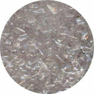 Ck Edible Glitter Flakes - Cake Decoration - 1/4 Oz - Metallic Silver