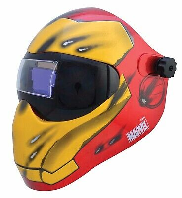 Save Phace Extreme Face Protector I Series Welding Helmet, Iron Man 3012503
