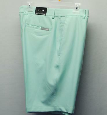 Mens Size 34 Dunning Golf Stretch Performance poly/spandex Beach Glass shorts