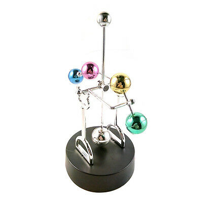 Colorful Ball Revolving Perpetual Motion Machine Home office artware