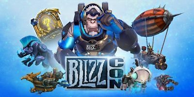 wow ✯ BlizzCon 2016 Virtual In-Game Goodies Code ✯ unused ✯