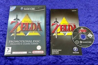 gamecube ZELDA The Legend Of Collectors Edition Nintendo PAL
