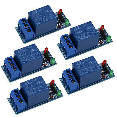 5Pcs 5V Relay Module Shield for Arduino Uno Meage 2560 1280 ARM PIC AVR DSP