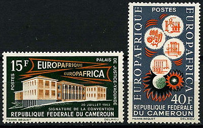 Cameroun 1964 SG#362-3 Economic Convention MNH Set #D35356