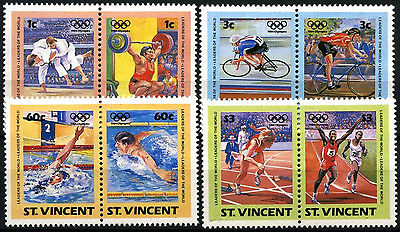 St. Vincent 1984 SG#812-9 Olympic Games MNH Set #D35147