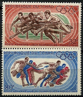 Chad 1968 SG#217-8 Olympic Games MNH Set #D35355
