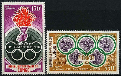 Congo 1971 SG#304-5 Olympic Games MNH Set #D35370