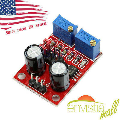 NE555 Duty Cycle Adjustable Pulse Frequency Square Wave Signal Generator Module