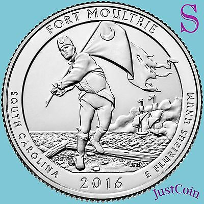 2016-S Fort Moultrie Sumter National Monument Quarter Uncirculated