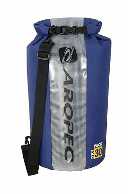 Aropec Swell-30 30L Dry Bag with Roll Top Blue