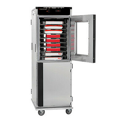 Cres Cor H-138-NPS-CC3MQ Mobile Pass-Thru Heated Cabinet.
