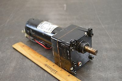 Rae 2430003 Electric Gear Motor 90 Volt Dc 120 Rpm 50 In/lb Used 001