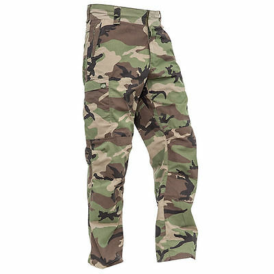 New Valken Paintball VTac V-Tac KILO Playing Pants - Woodland - 2XL