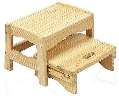 Safety 1st Wooden 2 Step Stool (Natural)