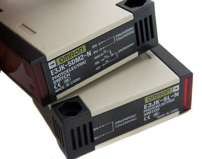 NEW OMRON Through Beam Photoelectric Switch E3JK-5M2-N