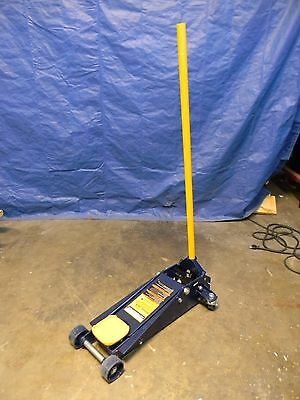 "Hein Werner 3 Ton Service Floor Jack with 23"" Lift Height"