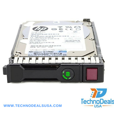 "Hp 652620-B21 653952-001 600Gb 15K Sas 3.5"" Dual Port 6G Ent Hard Drive"