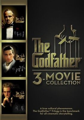 The Godfather: 3-Movie Collection [New DVD] Dubbed, Subtitled, Widescreen, Sen
