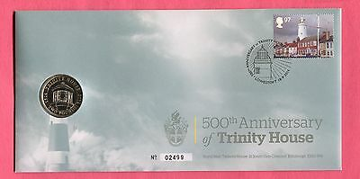 Great Britain Royal Mint 2014 Fdc £2 Coin Cover Trinity House