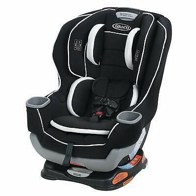 Graco Extend2Fit Convertible Car Seat Gotham  Baby Safety Comes w/ Base 3DAYSHIP