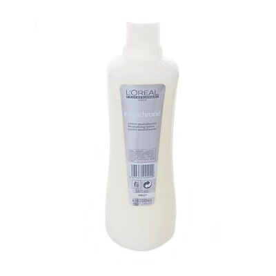 NEW L'Oreal Synchrone Neutralising Lotion 1000ml, Hydrogen Peroxide + Free P&P
