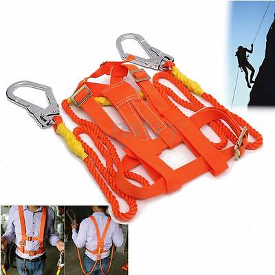 Rock Climbing Safety Harness Belt Tree Carving Arborist Rappelling Fall Arrest