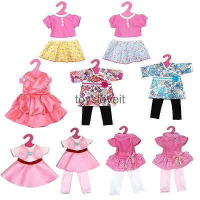 Stylish Tape Closure Dress Clothes for 18'' AG American Girl Our Generation Doll