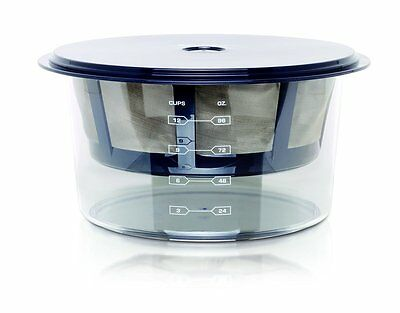 Euro Cuisine GY60 Greek Yogurt Maker With Stainless Steel Strainer BPA Free New