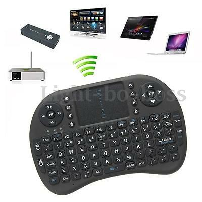 2.4GHz Mini clavier sans-fil Keyboard Touchpad Mouse Pr Google Android TV Box PC