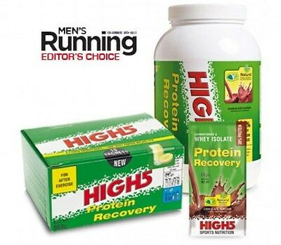 High5 Protein Recovery Powder (540g box of sachets or 1.6kg Tub)