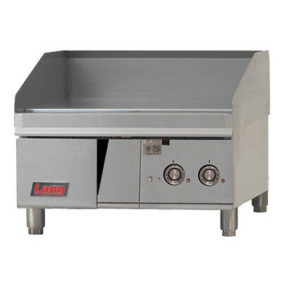 """Lang 124T 24"""" Electric Countertop Griddle"""
