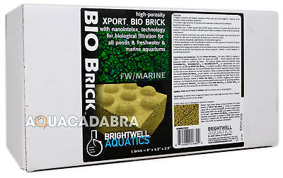 Brightwell Xport Bio Brick Biological Filter Media For Pond Aquarium Fish Tank