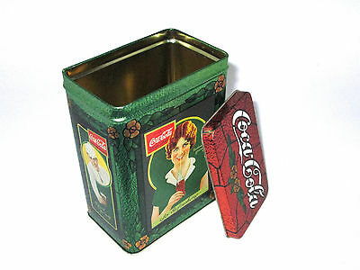 1996 Coca-Cola Brand Tin - Soda Jerk and Girl - Refresh Yourself So Refreshing