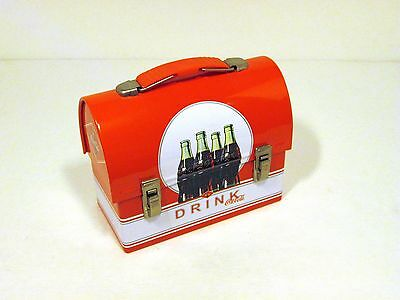 Coca-Cola Brand Small Carry-All Lunch Box Tin