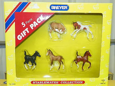 BREYER #5982 Stablemates Collection 5 Piece Gift Pack NIB