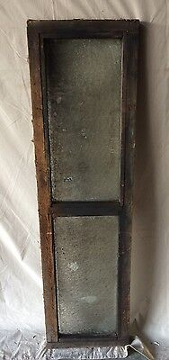 Antique Window Sash Florentine Privacy Glass Old Vintage Transom 1812-16