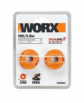 WORX WA0004 Replacement Spool and Line for WORX Grass Trimmers WG169E and WG154E