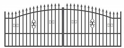 Brand New Wrought Iron Gate JULIA - made to measurement