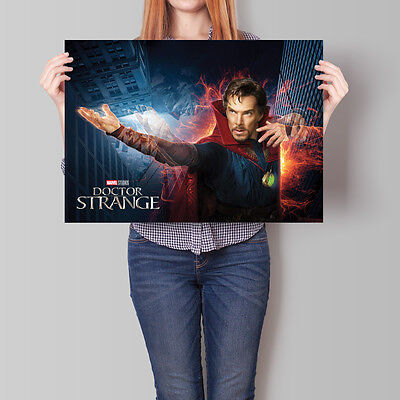 Doctor Strange Movie Poster 2016 Marvel Benedict Cumberbatch A2 A3 A4